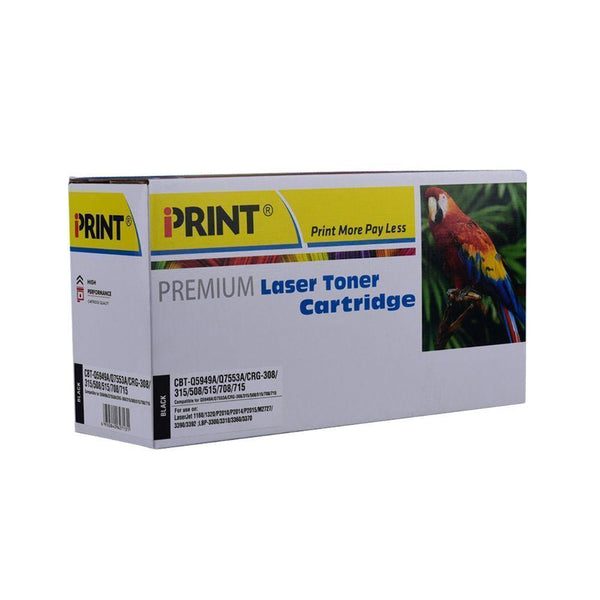 IPRINT C-CRG-308/315/508/515/708/715 Compatible Black Toner Cartridge for Canon C-CRG-308/315/508/515/708/715 - Buy online at best prices in Kenya