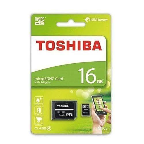 Toshiba 16GB MicroSD - Innovative Computers Limited