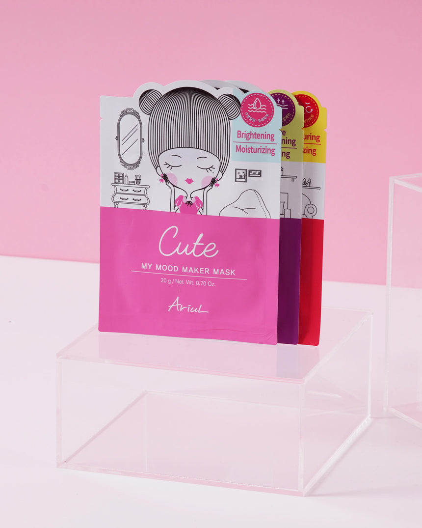 ARIUL: JUICE CLEANSING MASK SET