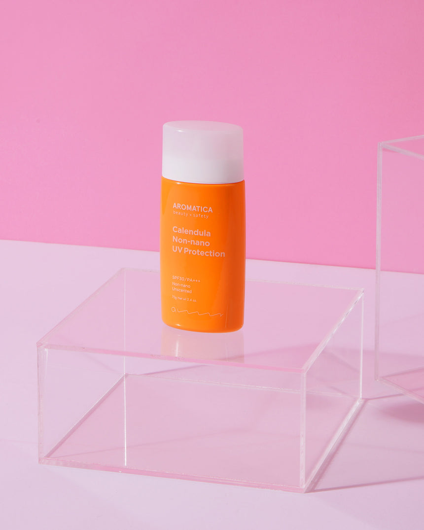 AROMATICA : CALENDULA NON-NANO UV PROTECTION UNSCENTED SPF30/PA++