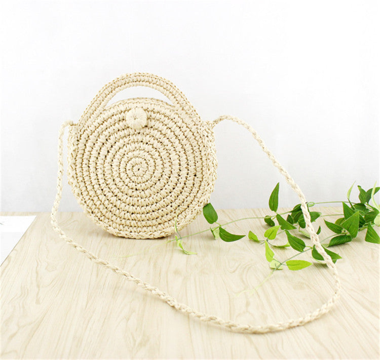Straw Summer Bag