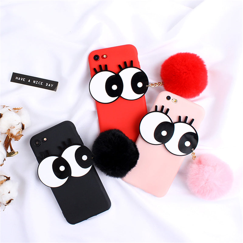 Pompom Eyes Samsung Galaxy S9/S9 Plus Case