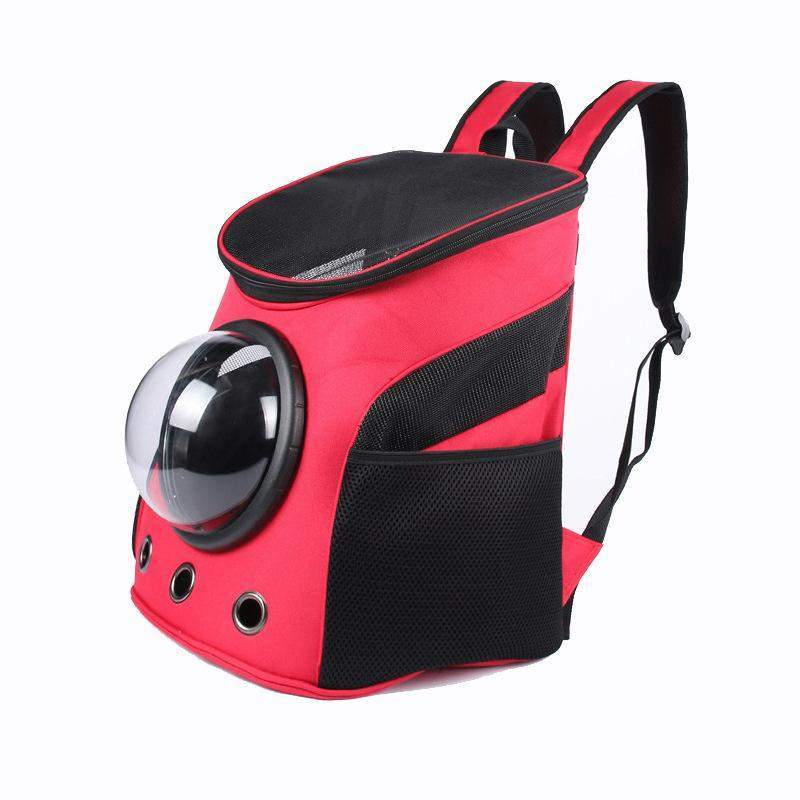 Breathable Backpack Pet Carrier-SpringNoir