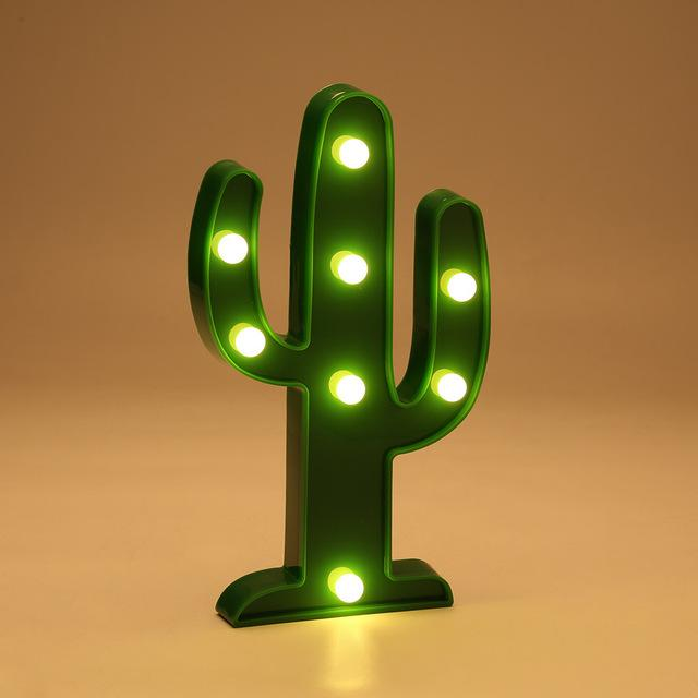 Cactus LED Lamp-SpringNoir