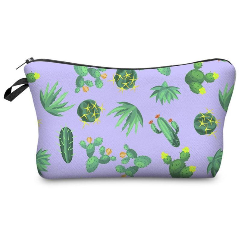 Cactus Travel Bag-SpringNoir