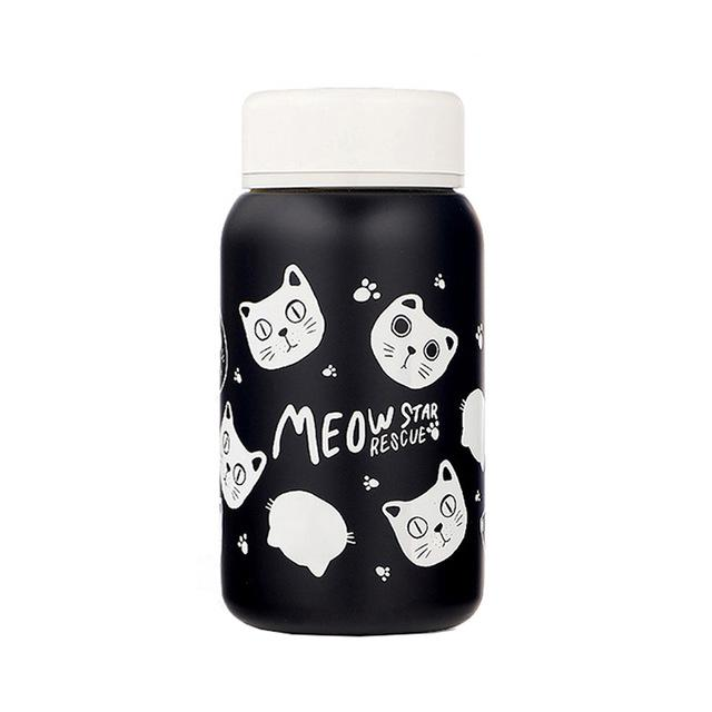 Cats Thermo Mug-SpringNoir