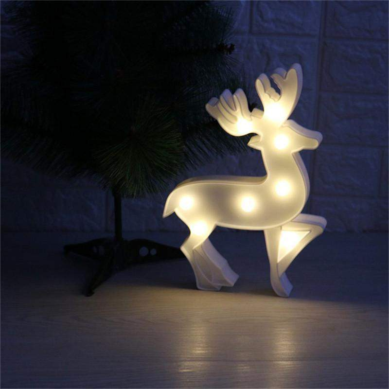 Christmas Deer LED Lamp-SpringNoir