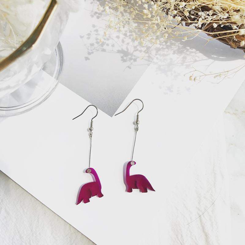 Dinosaur Earrings-SpringNoir
