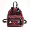 Glitter Airplanes Backpack-SpringNoir