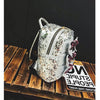 Glitter Bow Backpack-SpringNoir
