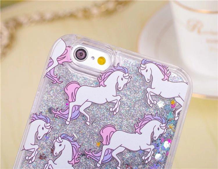 Glitter Unicorn iPhone 5/5S Case-SpringNoir