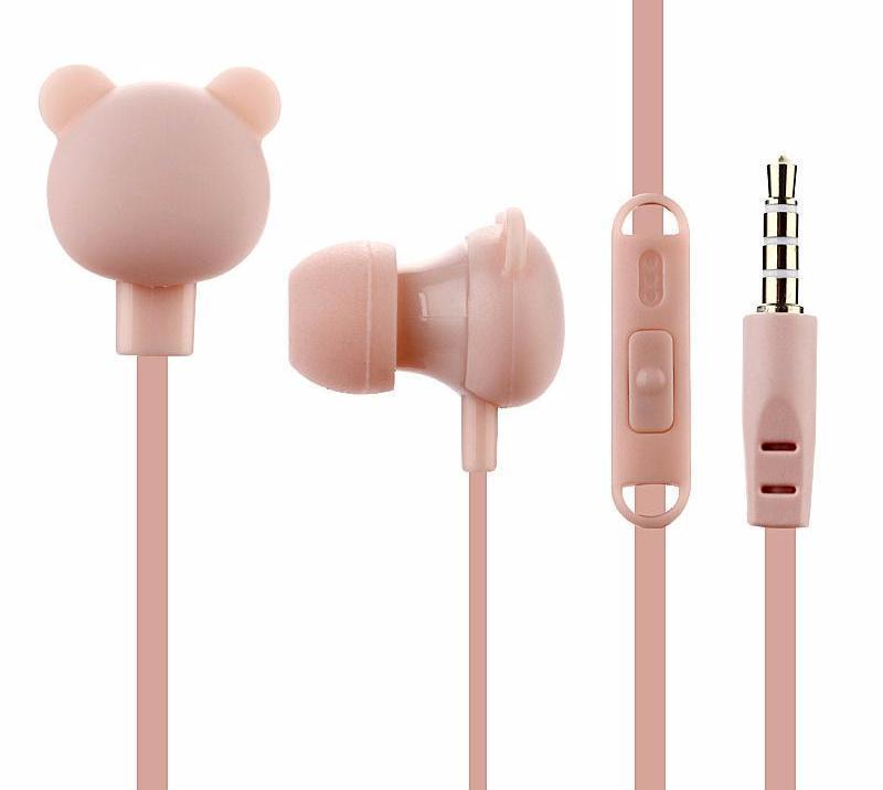 Little Bear Earphones-SpringNoir