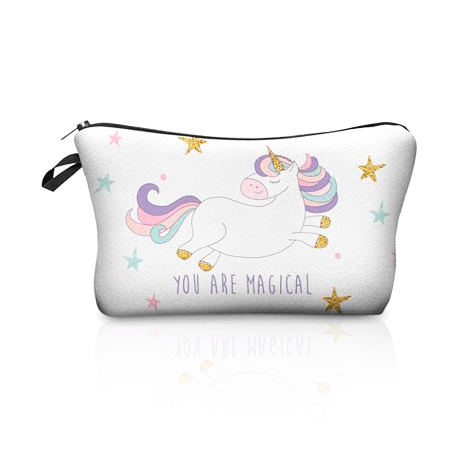 Magical Unicorn Travel Bag-SpringNoir