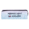 Mermaids Don´t Do Homework Pencil Case-SpringNoir