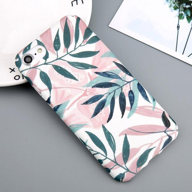 Pink Jungle Phone Case-SpringNoir