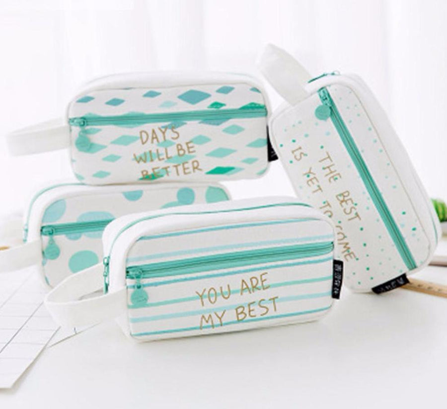 Positive Pencil Case-SpringNoir