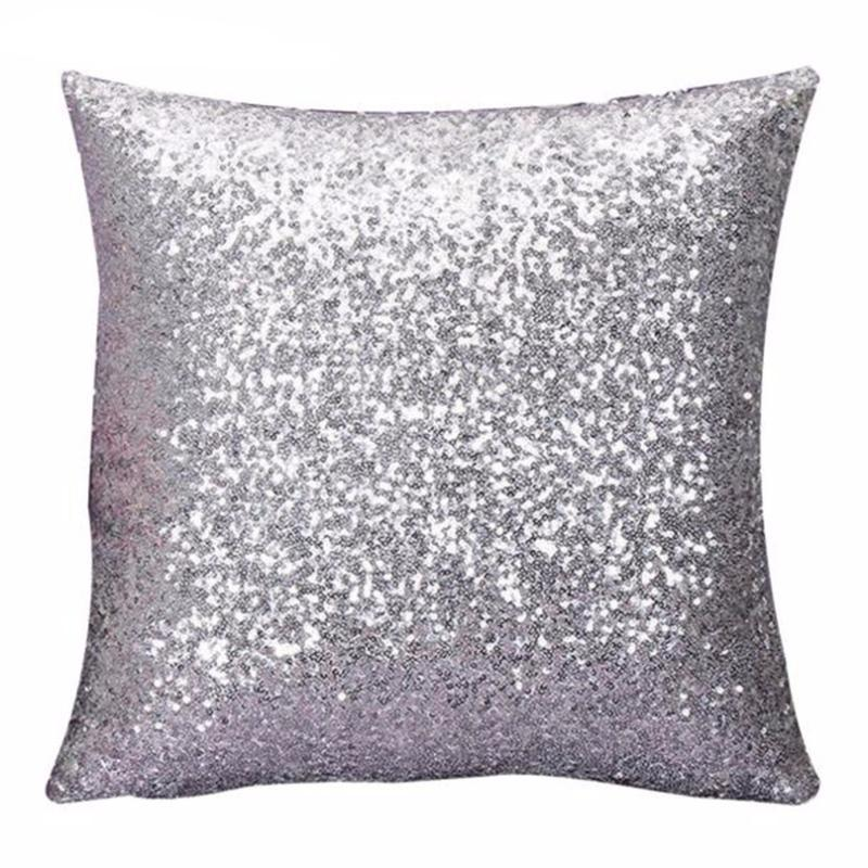 Sequins Pillow Case-SpringNoir