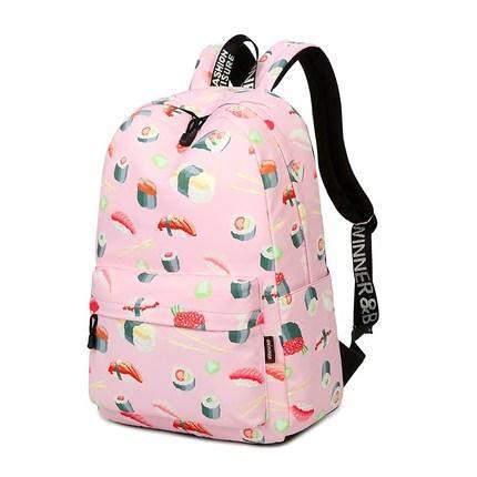 Sushi Backpack-SpringNoir