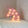 Unicorn Head LED Lamp-SpringNoir