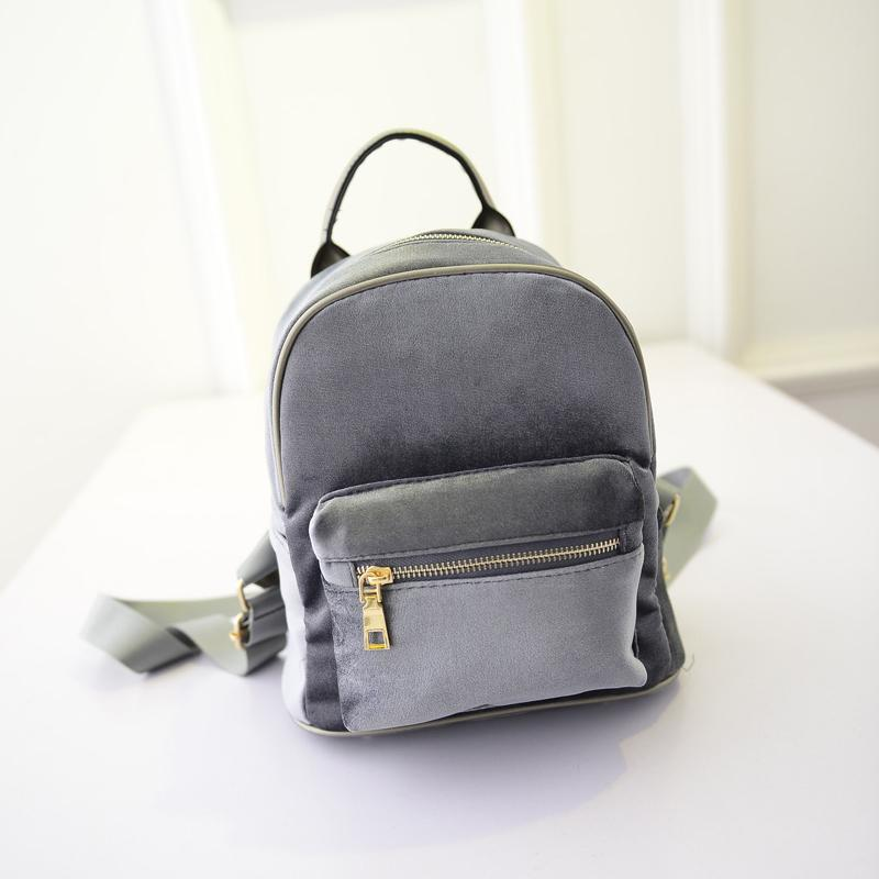 Velvet Backpack-SpringNoir