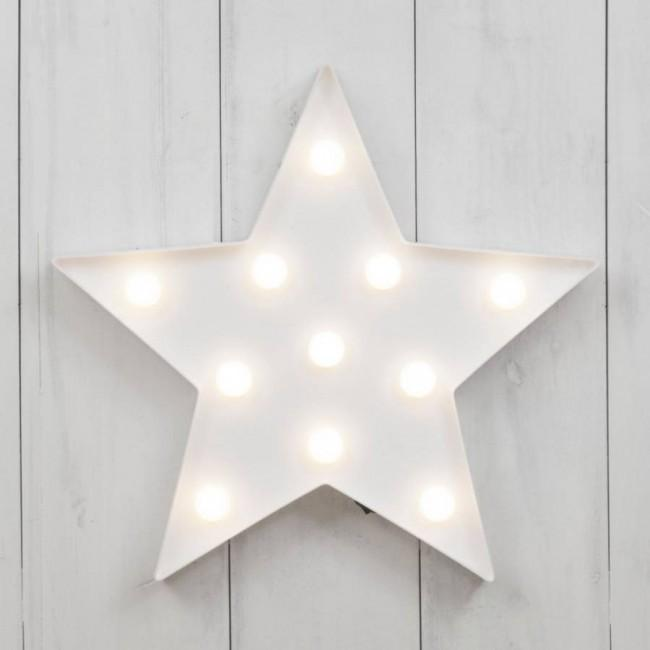 White Star LED Lamp-SpringNoir
