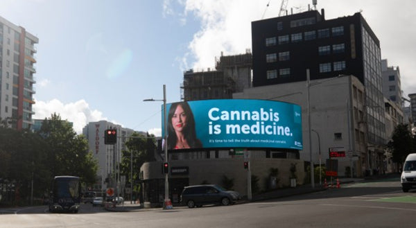 Medsafe investigating claims on cannabis billboard