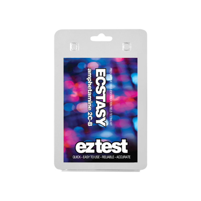 EZ Test for Ecstasy, (meth)Amphetamine, 2C-B/C/I and other substances