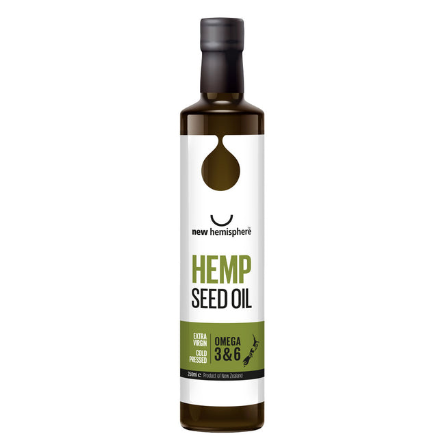 Hemp Seed Oil Bottle (250ml)