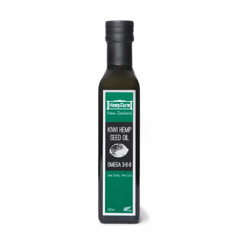 Hemp Seed Oil - Kiwi - 250ml