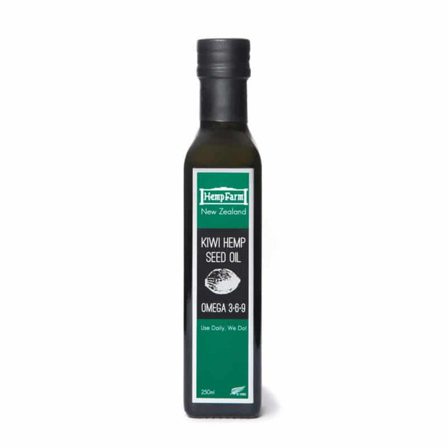 Kiwi Hemp Seed Oil 250ml
