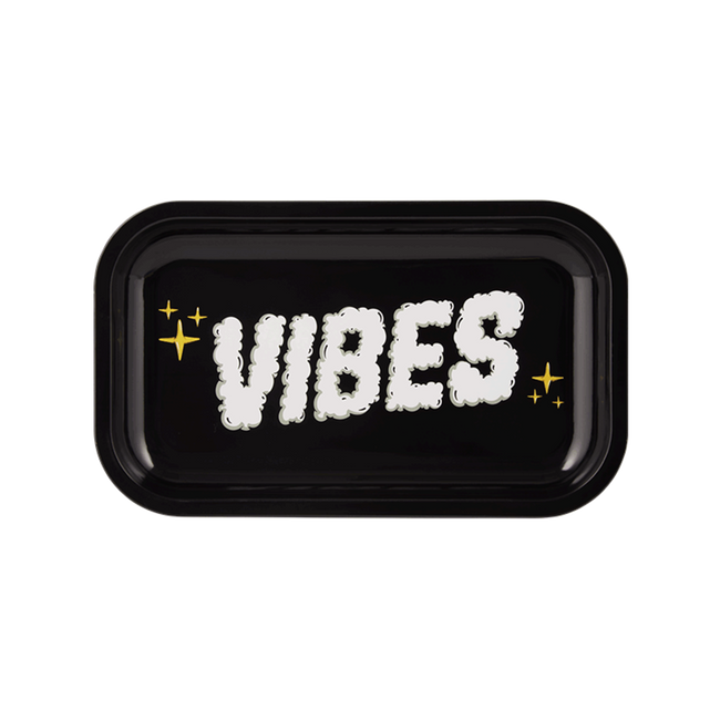 Vibes Smoke Metal Rolling Tray