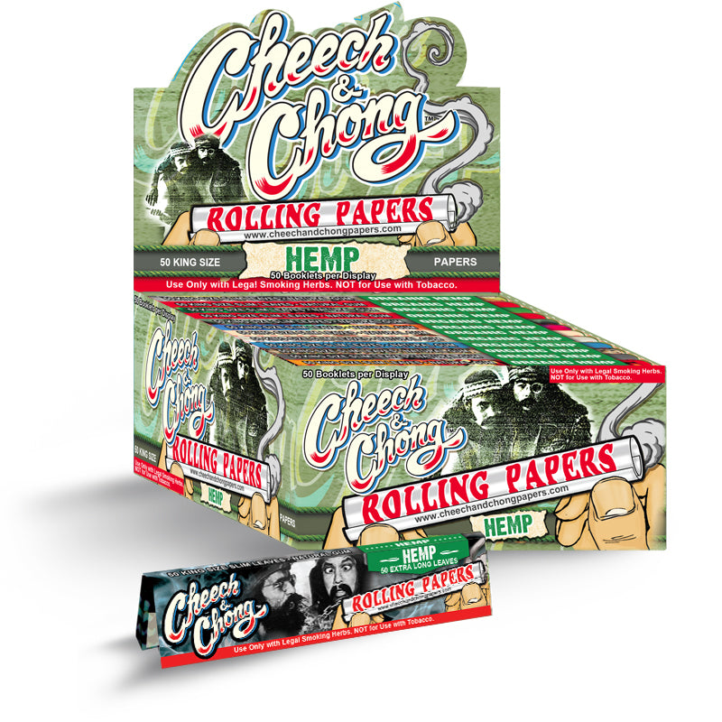 Cheech and Chong Hemp Rolling Papers - Kingsize