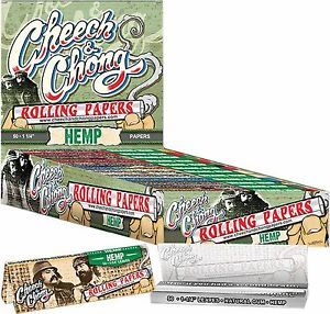 "Cheech and Chong Hemp Rolling Papers - 1 1/4"" size"