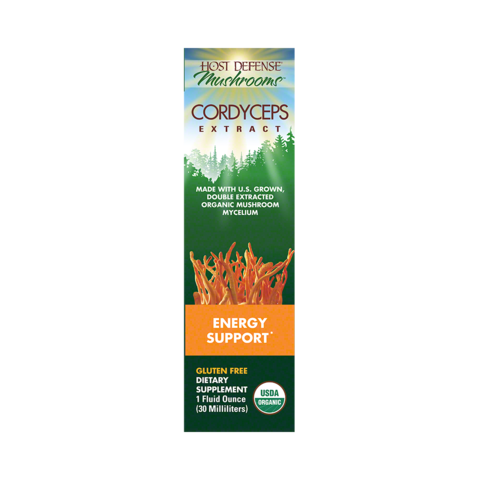 Cordyceps Extract (30ml) Supports Energy, Libido, Stamina