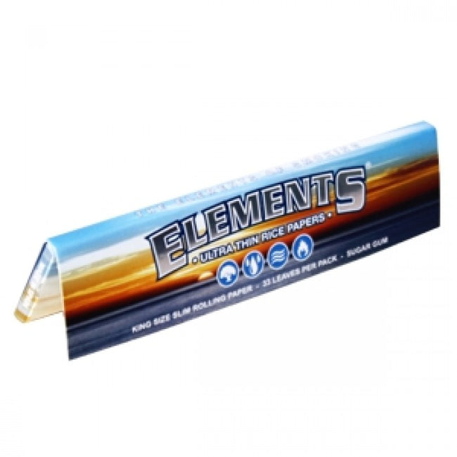 Elements Kingsize Slim - deluxe rolling papers