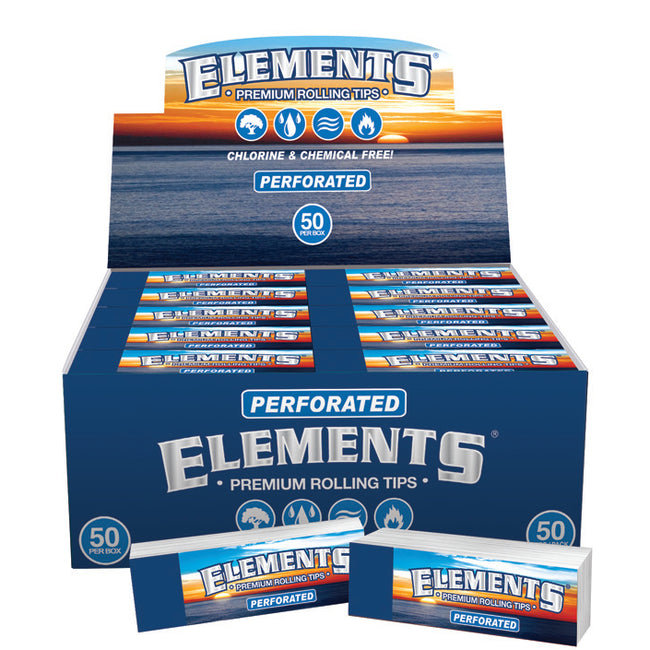 Elements Tips - deluxe perforated rolling tips