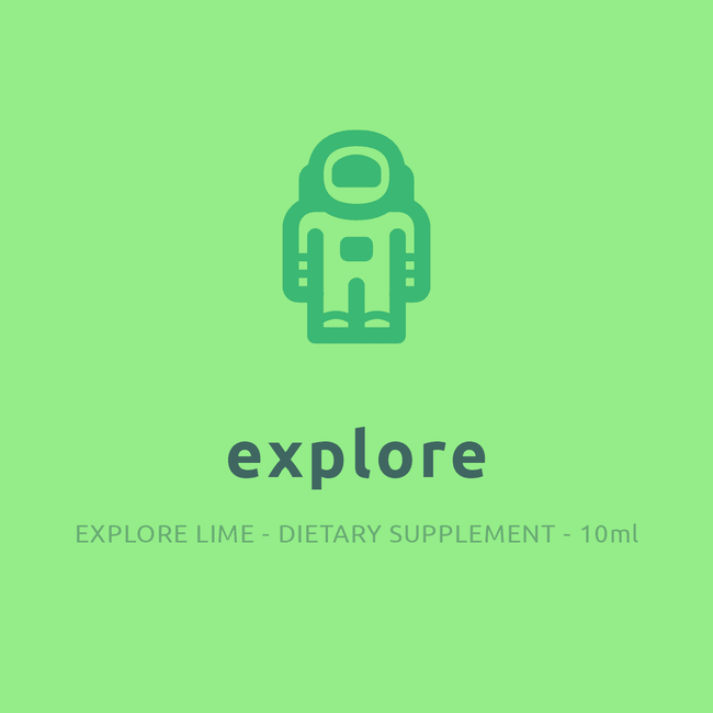 explore (10ml) Dietary Supplement EXPLORE LIME