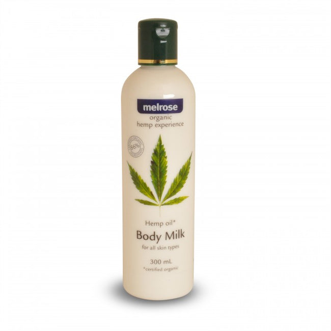Hemp Body Milk (300ml) Melrose Organic
