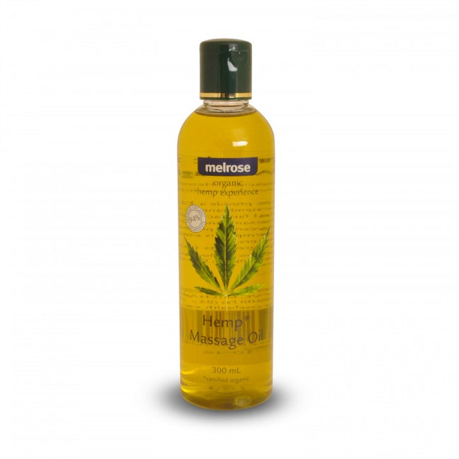 Hemp Massage Oil (300ml) Melrose Organic