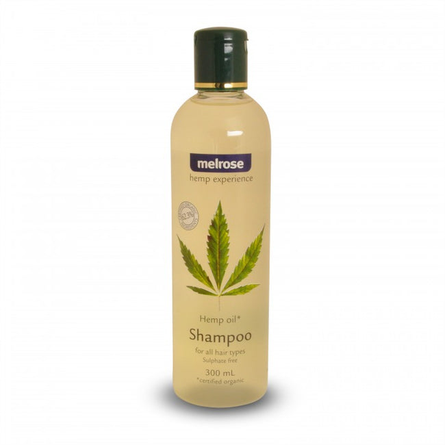Hemp Shampoo (300ml) Melrose Organic