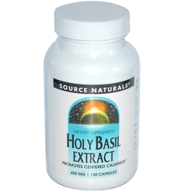 Serene Science® Holy Basil Extract (120 softgels) 450mg Promotes Centered Calmness