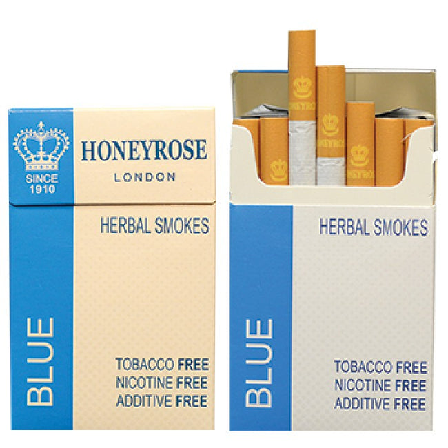 Honeyrose BLUE Herbal Cigarettes