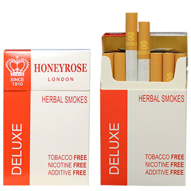 Honeyrose DELUXE Herbal Cigarettes