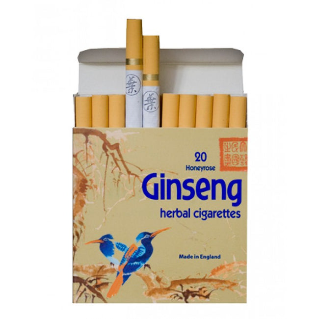 Honeyrose GINSENG Herbal Cigarettes