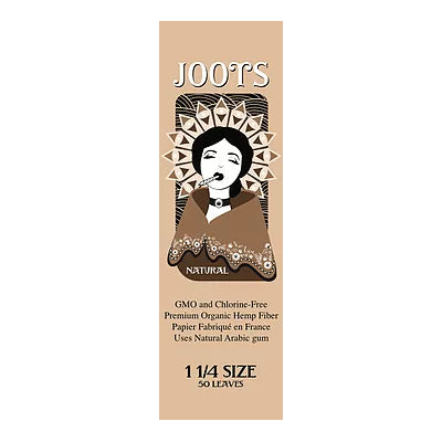 Joots Rolling Papers Natural (1 1/4 size)