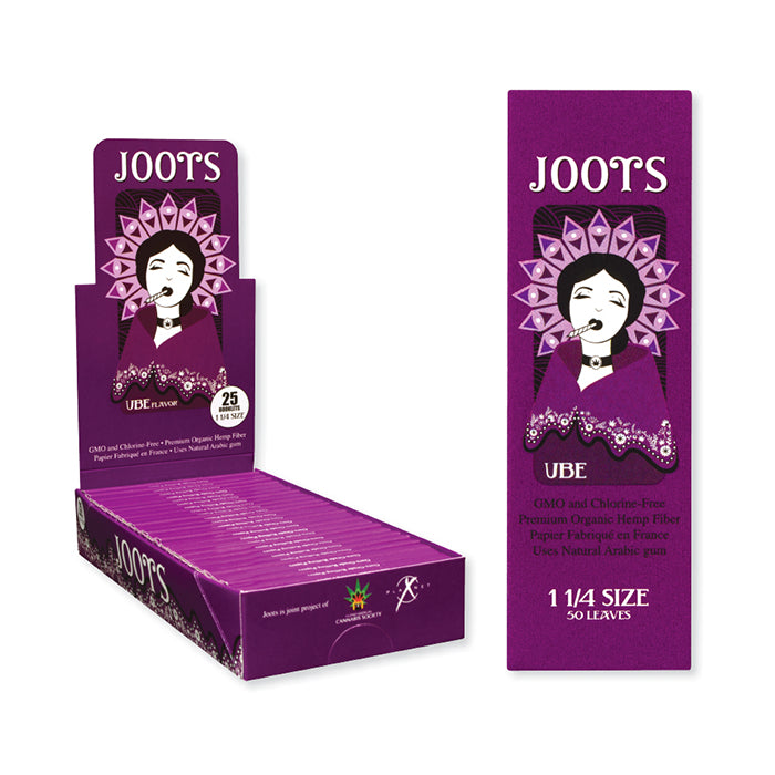 Joots Rolling Papers UBE Flavoured (1 1/4 size)