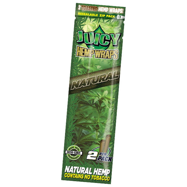 Juicy Hemp Wraps (Available in Natural Hemp & Assorted Flavours)