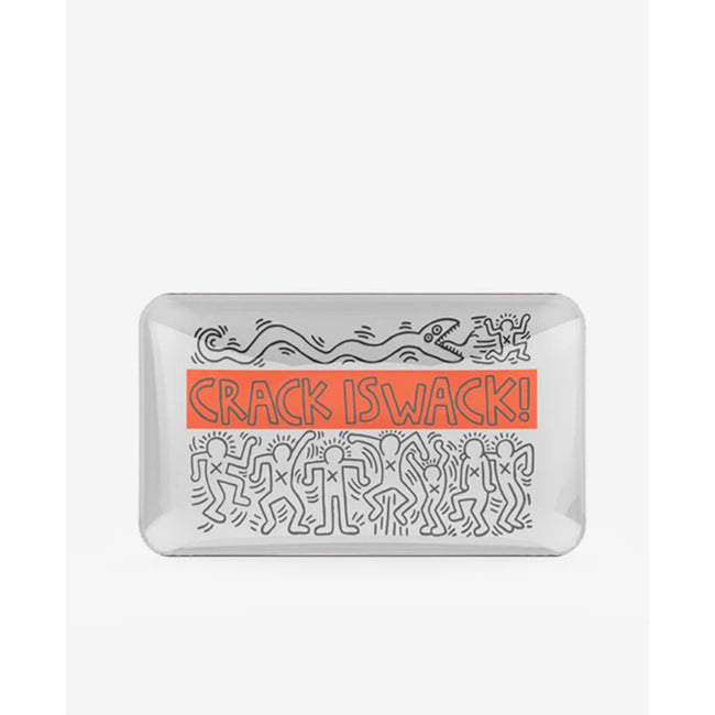 K.Haring Rolling Tray - Crack is Wack