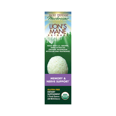 Lion's Mane Extract (30ml) Promotes Mental Clarity, Focus & Memory