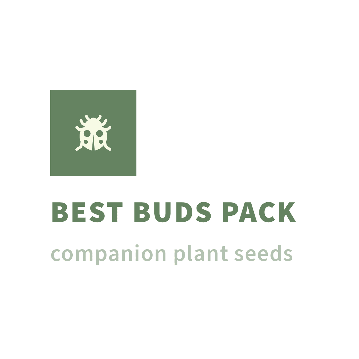 Stealth Pack - BEST BUDS PACK companion plant seeds MIX PACK